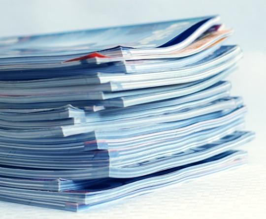 Magazine stack 540