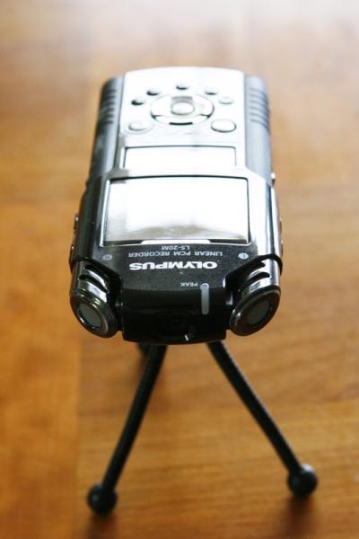 Olympus LS-20 recorder