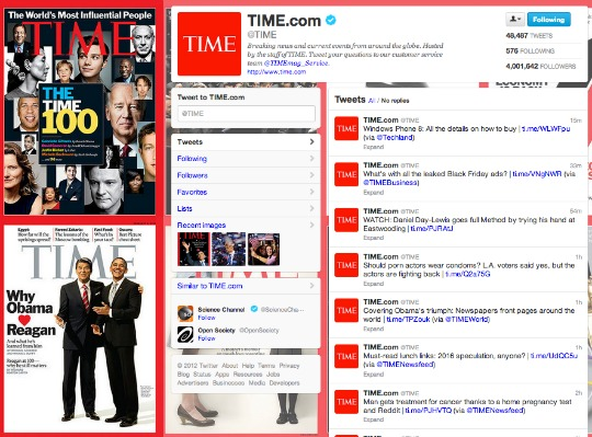 Time Magazine Twitter