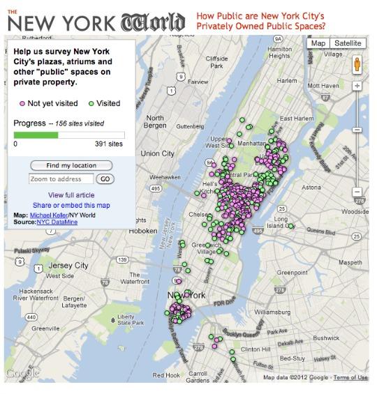 New York World Map