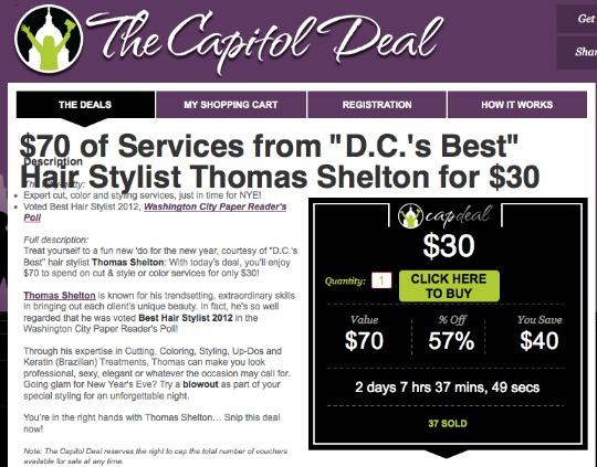 Washington Post's Capitol Deal