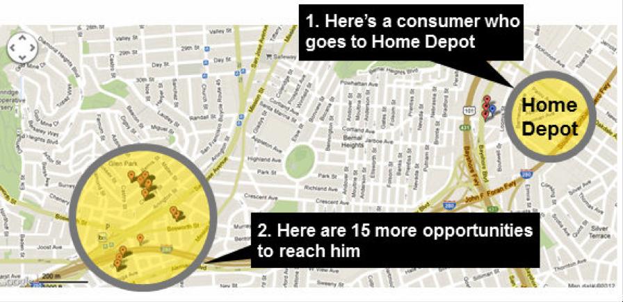 Home Depot Map