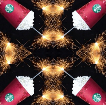 Starbucks Gets Artsy With Photos